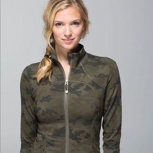 Lululemon Green Camo Forme Jacket 12